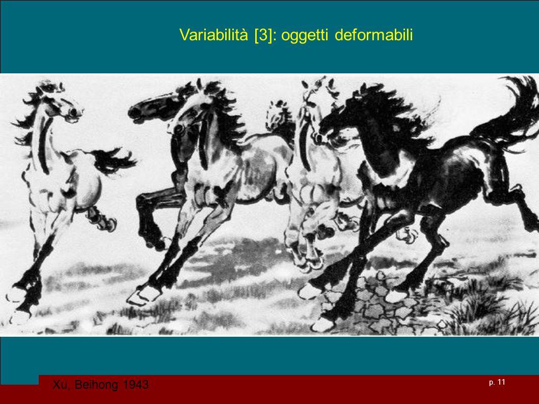 Variabilità [3]: oggetti deformabili